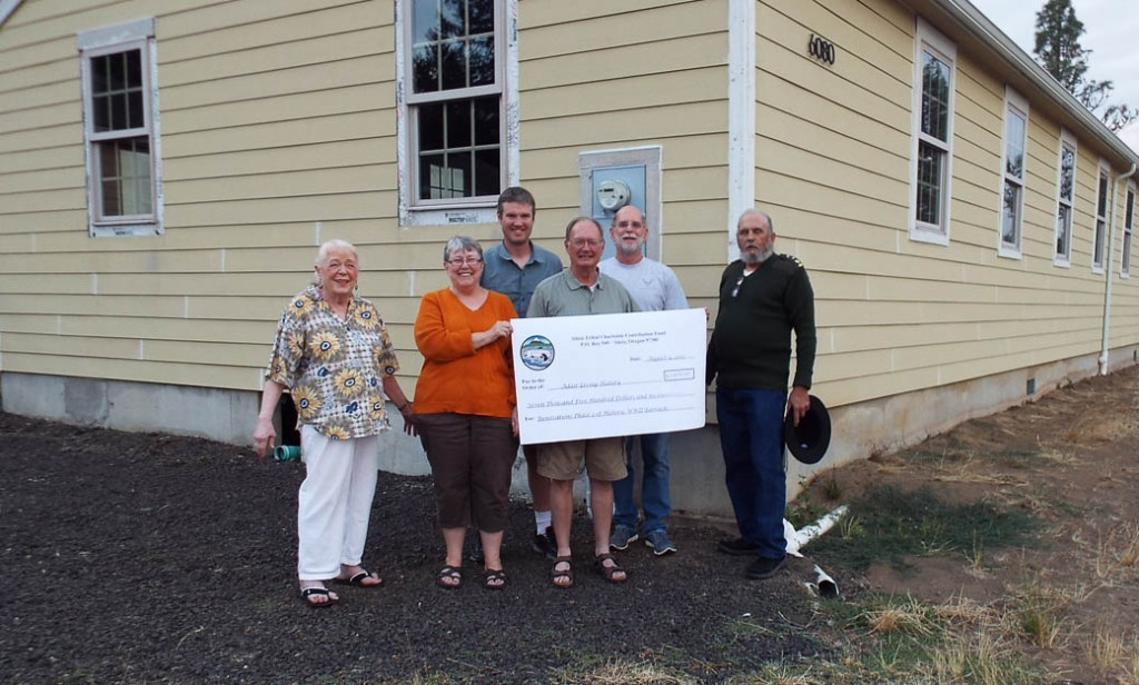 Adair Living History wins a grant from Siletz Tribal Charitable Contribution Fund